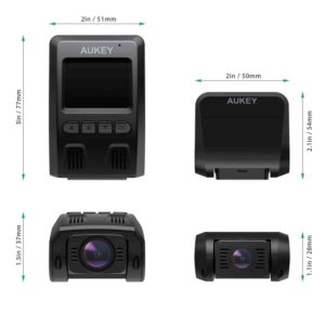 AUKEY Dash Cam Dual 1080P HD Front and Rear Dash Cam Review