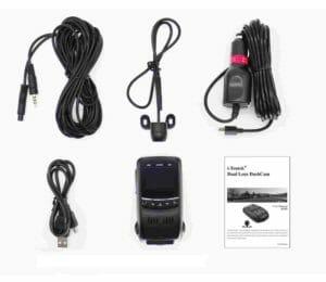 i-Tentek B40D Dual Camera Capacitor Version Stealth Dash Cam Review